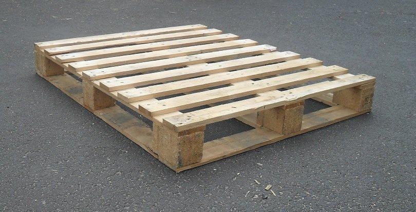 Gewicht blokpallet